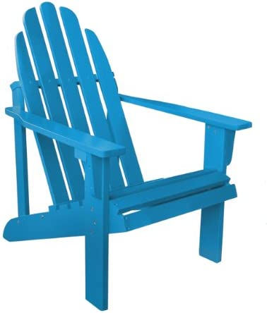 Shine Company Inc 4613TQ Catalina Adirondack Chair, 25.75L x 33W x 36H, Turquoise