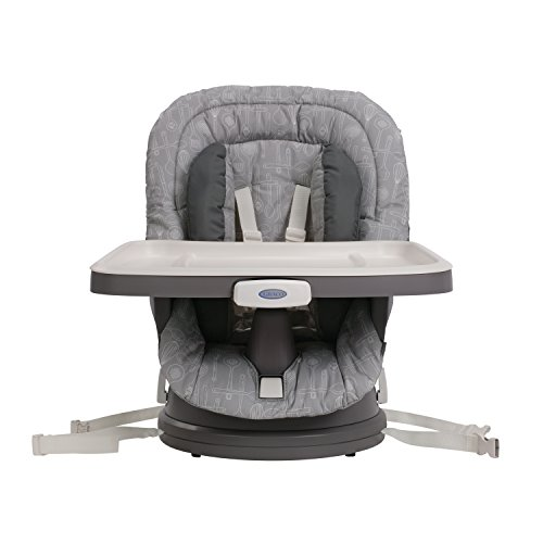 Graco Swivi Seat 3-in-1 Booster Chair, Whisk Home Garden