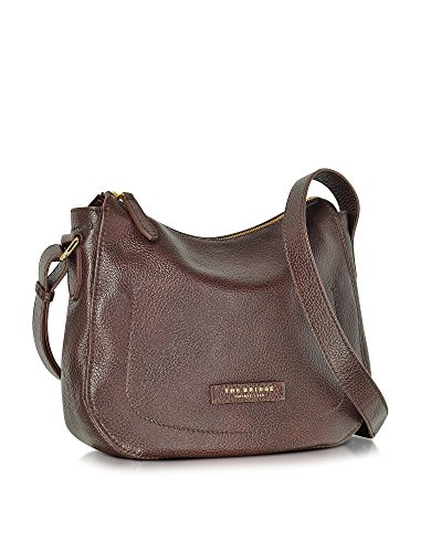 THE BRIDGE FEMME 0415467914 MARRON CUIR SAC PORTÉ ÉPAULE