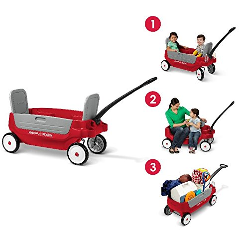 Radio Flyer Grandstand 3-in-1 Wagon