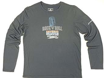 Brooks Rock 'N' Roll Denver Long Sleeve T-Shirt Mens Midnight Blue (Small)