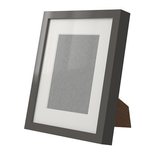 "Ikea Photo Frame Certificate Picture 8.5 x 11"" Black"