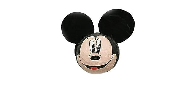 piñata mickey mouse cumpleaños original hecha a mano ...