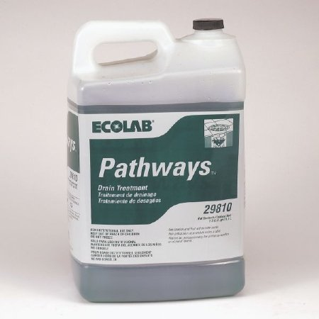 Ecolab 29810 Pathways Drain Treatment - 2.5 Gallon Bottle by Ecolab (Image #1)
