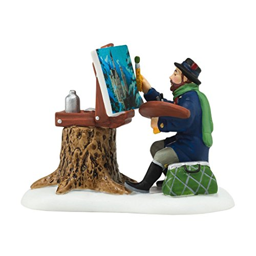 (Department 56 Alpine Village Plein Air Painter Accessory Figurine, 2.24