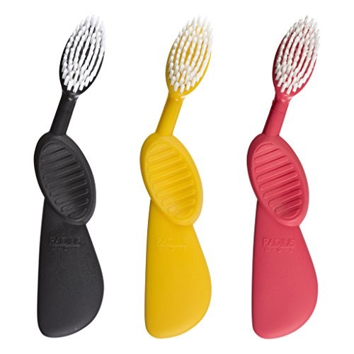 radius-scuba-right-hand-toothbrush-soft-bristles-assorted-colors-colors-may-vary-pack-of-3