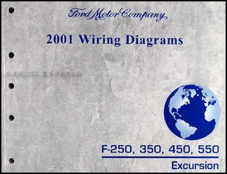 2001 ford f-250 350 450 550 excursion wiring diagram manual original: ford:  amazon.com: books  amazon.com
