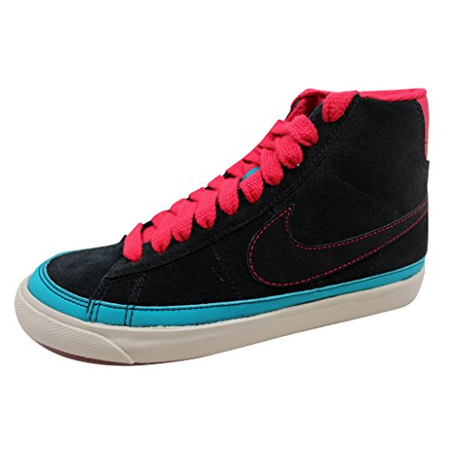 Nike Women's Blazer Mid '09 ND Black/Black-Very Berry-Birch 375573-001 Shoe 8.5 M US