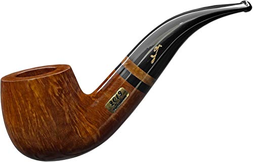 2019 Savinelli Pipe of The Year Natural 9Mm Briar Pipe Free Adapter