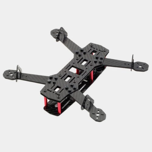 Qiyun QAV250 Carbon Fiber 250mm Mini FPV Quadcopter Frame Kit / 4 Axis Mulitcopter