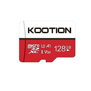 KOOTION 128GB Micro SD Card Ultra Micro SDXC Memory UHS-3 Card High Speed TF Card R Flash, U3, A1,V30, 128 GB