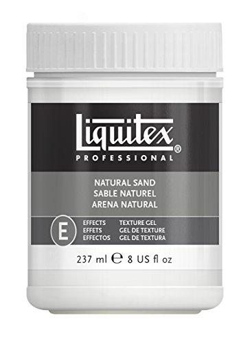 Liquitex Professional Natural Sand Effects Medium, 8-oz (6508)