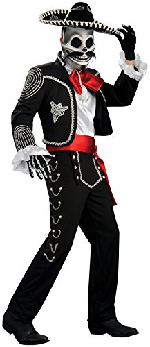 Rubie's Costume Co Men's Grand Heritage El Senor Costume, Multi, (Day Of The Dead Senor Adult Costumes)