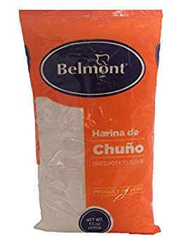 Belmont Harina De Chuño (Dried Potato Flour) Single Bag 15oz - Product of Peru