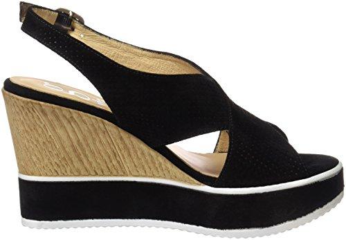Gadea Women's 40635 Open Toe Sandals, Black Black (Spice Negro Black )