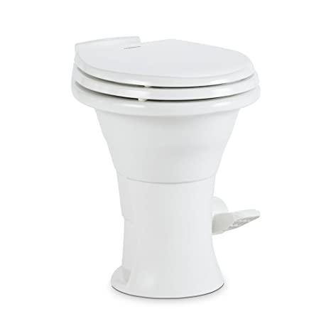 Swell Dometic 310 Series Standard Toilet 302310031 19 75 Height Slow Close Wood Seat White Short Links Chair Design For Home Short Linksinfo