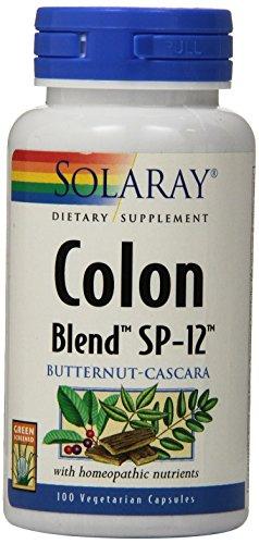 Solaray Colon Blend SP-12 Capsules, 100 Count