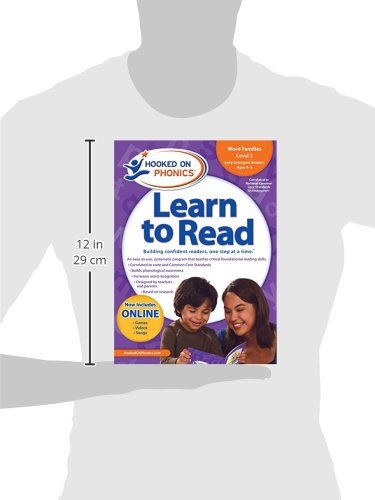Learn to Read Kindergarten Level 1 by Hooked On Phonics (Image #5)