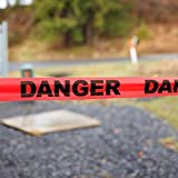 PS DIRECT PRODUCTS: Heavy Duty Danger Tape - 3 inch