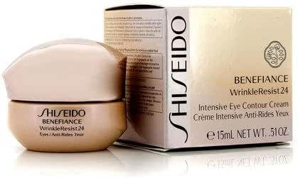 Shiseido Eye Care 0.51 Oz Benefiance Wrinkleresist24 Intensive Eye Contour Cream For Women