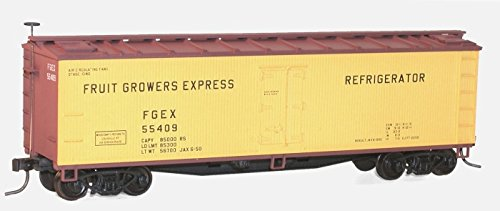 Accurail 48022 HO Scale Kit 40 FT Wood Refrigerator Cars Fru