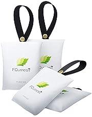 FO2RREST Schoen Deodoriser, geur elimineren lucht zuiverende zakken voor schoenen (50g* 4 Pack)