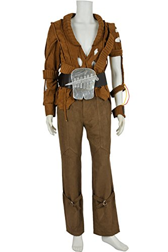 XOMO Star Trek II Cosplay The Wrath Of Khan Brown Costume Male (Wrath Costume Men)