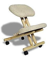 cinius Professionell ergonomisk stol utan rygg, i flera färger