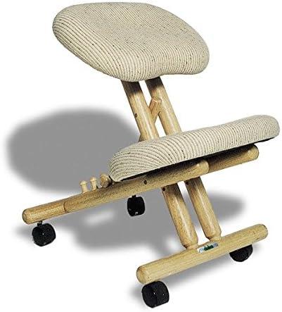 Farbe Natural Kniestuhl Ergonomischer Cinius Stoff Kniehocker Stuhl Computerstuhl Orthopädischer 0NvmPyO8wn