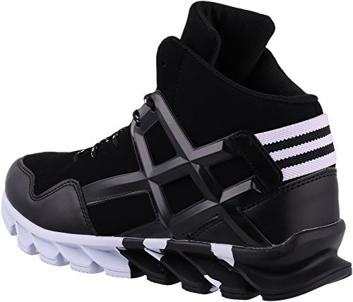 Amazon Com Joomra Men S Stylish Sneakers High Top Athletic