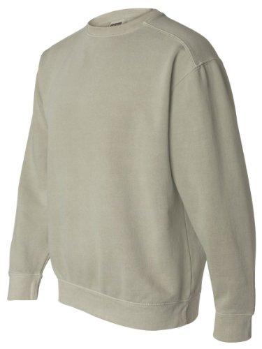 Comfort Colors Pigment-Dyed Crewneck Sweatshirt, S, Sandstone
