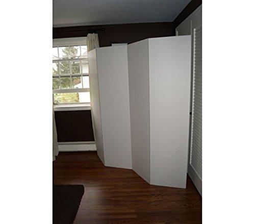 DormCo Privacy Room Divider (2-Pack) - White by DormCo