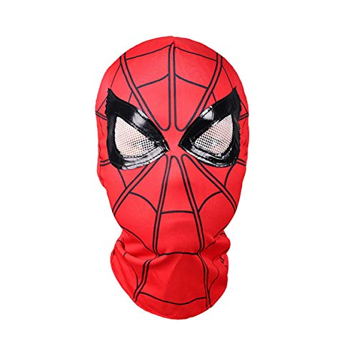 hcoser Máscara de Spiderman Fiestas de Disfraces de Halloween Niños, adultos