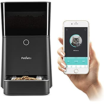 Petnet SmartFeeder, Automatic Pet Feeder for Cats and Dogs, Works with Amazon Alexa