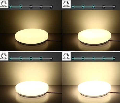Led Ceiling Lights Usa : Usa free shipping s g led ceiling lights dimmale k w