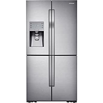 Samsung RF32FMQDBSR 4-Door Refrigerator with Convertible Zone, 32 Cubic Feet