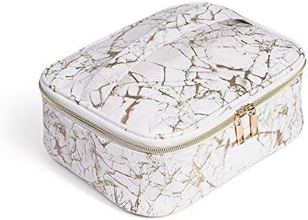YouNITE 多機能コスメティックバッグトラベルオーガナイザーボックストイレタリーキットウォッシュトイレバッグ防水トラベルキットバッグをメイク (Color : Gold)