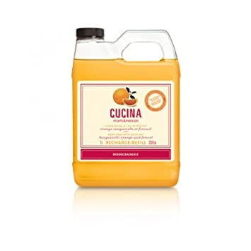 Cucina Coriander and Olive Tree 33.8 oz Purifying Hand Wash Refill Fruits & Passion 20700510010