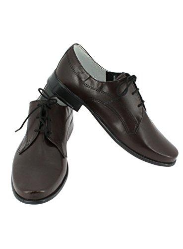Garçon Chaussures Marron Mariage magique Cérémonie Boutique 6PqZwIAxn5