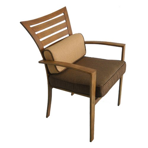Amazon.com : Allen + Roth Set Of 4 Colby Dining Patio Chairs : Patio, Lawn  U0026 Garden