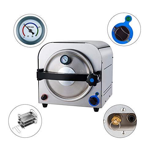 NSKI 14L High Pressure Performance Steam Autoclave TR250E Lab Equipment