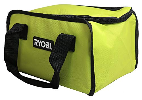 (Ryobi 903209066 / 902164002 Soft-Sided Power Tool Bag with Cross X Stitching and Zippered Top (Fits CSB143LZK Circular Saw))