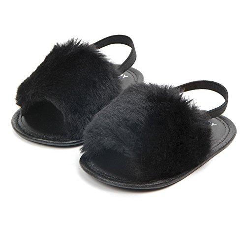 Ocamo Zapatillas de verano para bebé, lindo regalo para niños de 0 a 1 año, banda elástica de poliuretano suave para...