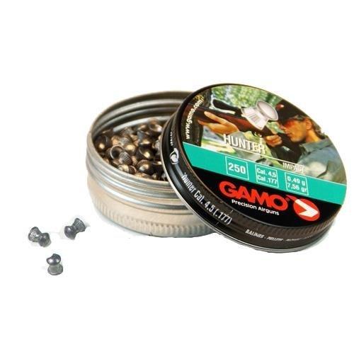 Tin Nose Round Grain (Gamo 6320824BL54 Hunter Pellets (Domed) .177caliber Tin of 250)