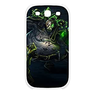 Urgot-001 League of Legends LoL case cover Samsung Galaxy Note3 Plastic White