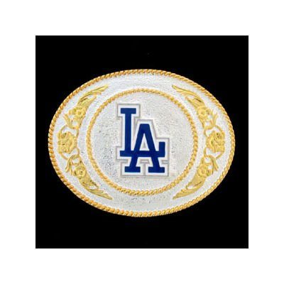 Amazon Official Licensed Mlb La Dodger Fan Gold And Silver
