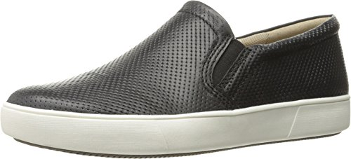 Naturalizer Women's Marianne Fashion Sneaker, Black, 7.5 M US
