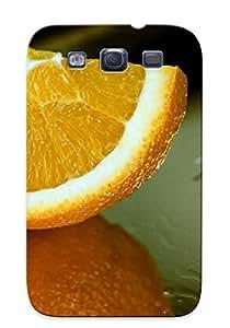 High Impact Dirt/shock Proof For SamSung Galaxy S5 Mini Case Cover (orange Slice )