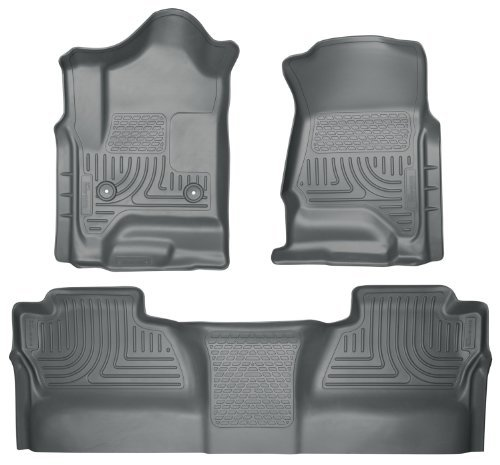 (Husky Liners 98232 WeatherBeater Grey Front and 2nd Seat Floor Liner by Husky Liners)