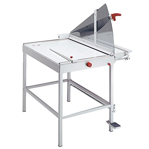 KU0476 20 Sheet Capacity 31.5 Cutting Length MBM Triumph Kutrimmer 1080 Professional Industrial Heavy Duty Steel Blade Large Format Floor Model Stack Guillotine Paper Trimmer